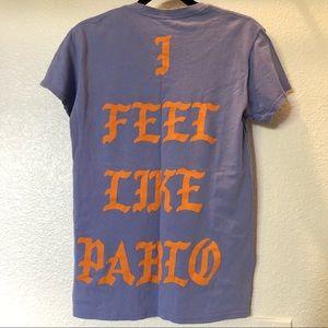 Yeezy   I FEEL LIKE PABLO Portland tee shirt